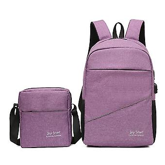 High quality double shoulder computer backpack