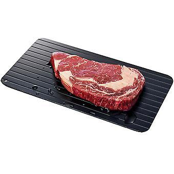 Kabalo Extra große Fleisch Auftautablett Fast Tau Board Rapid Taufrost Non Stick Platte