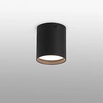 Led Surface Mounted Ceiling Noir 6W 3000K