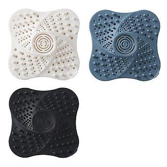 Disposable Hair Catcher Shower Filter Sink Plug, Floor Drain Filter
