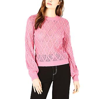 Leyden | Leyden Cable-Knit Cropped Sweater