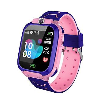 Children's Sos Phone Smart Watch - Support Sim Card Photo, 400mah Battery