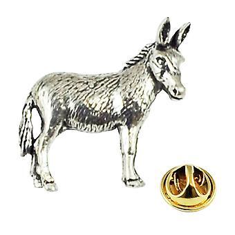 Ties Planet Donkey Pewter Lapel Pin Badge