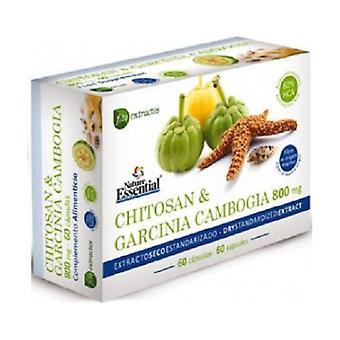 Chitosan + Garcinia 800 mg 60 capsules