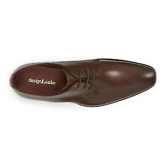 Loake Mens Bressler Goodyear Welted Derby Shoe