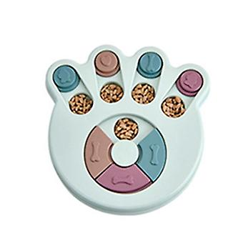 Portable Pet Dog Feeding Food Bowls - Puppy Slow Down Puzzle Toys Training