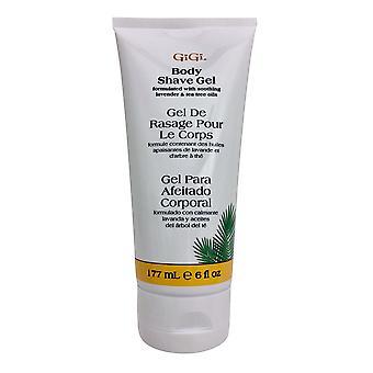 GiGi Body Shave Gel Lavender & Tea Tree Oil 6 OZ