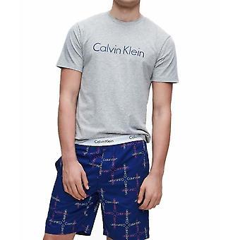 Calvin Klein - Pyjama 2 Pc Short Set - Gris