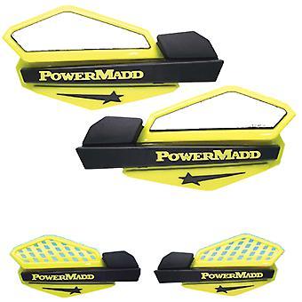 Powermadd 34206 星ハンドガード システム適合鈴木 - イエロー/ブラック