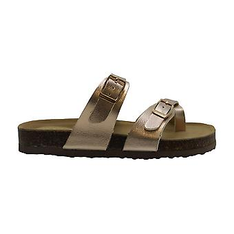 Niños Madden Girl Girls JBryceee Slip On Slide Sandalias
