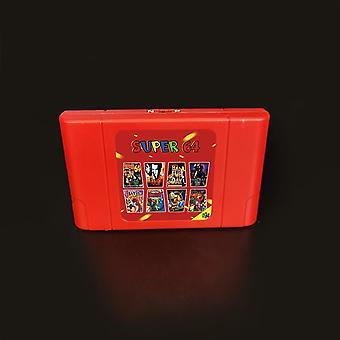 بطاقة لعبة سوبر جديدة، 340 في 1 خرطوشة لعبة لN64 لعبة فيديو وحدة التحكم (السوبر