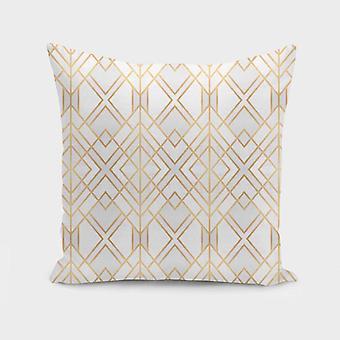 Geometrical Design Pillow Cover