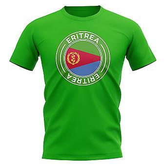 Camisa do distintivo de futebol da Eritreia (Verde)
