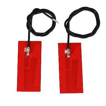 2pcs Red Internal Antenna High Gain Welded 32x14 mm Wire Length 20cm