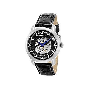 Invicta  Objet D Art 22633  Leather  Watch