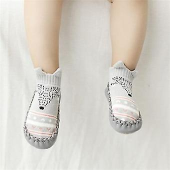 Infant Baby Socks With Rubber Soles Newborn Baby Girls Boys Shoes Autumn Baby