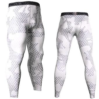 Mannen Compressie Running Training Fitness Sports Leggings Gym Jogging-broek