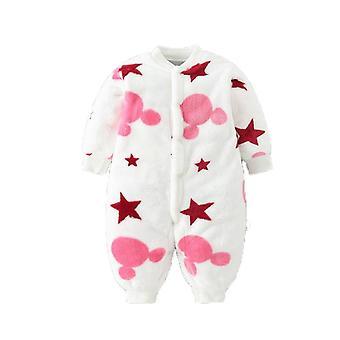 Χειμώνας Unisex Χριστούγεννα Rompers, παχύ ζεστό βρέφος Jumpsuit Parkas για νεογέννητο