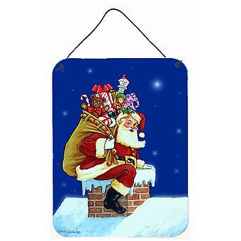 سانتا كلوز زيارة من سانتا وول أو باب شنقا يطبع
