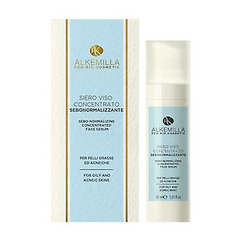 Concentrated Sebum-normalizing Face Serum None