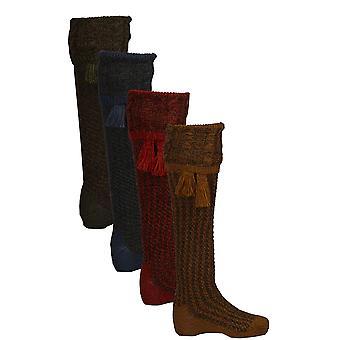 Walker and Hawkes - Mens Shooting Revier Socks & Matching Garter Ties