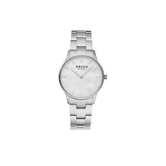 Obaku Wristwatch Men's LYNG BRACE V247LXCWSC