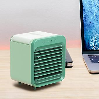 Mini Humidificateur de bureau portable Usb Air Cooler Fan Air Conditioner Light,