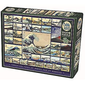 Cobble hill puzzle - hokusai