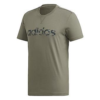 Adidas E Camo Lineárne Tee FM0224 univerzálny po celý rok muži t-shirt