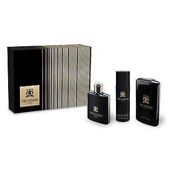 Men's Perfume Set Uomo Trussardi EDT (3 uds)
