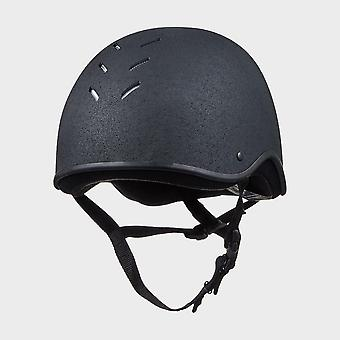 New Charles Owen JS1 Riding Helmet Black