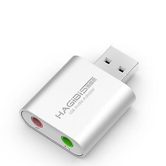 Convertitore di schede audio esterno Usb per pc portatile