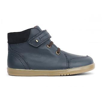 BOBUX Velcro Boot Navy Blue
