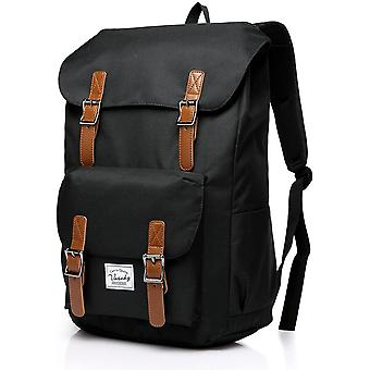 VASCHY Backpack for Men, Women Casual Lightweight Backpack Camping Rucksack Fits 15.6 Inch Laptop