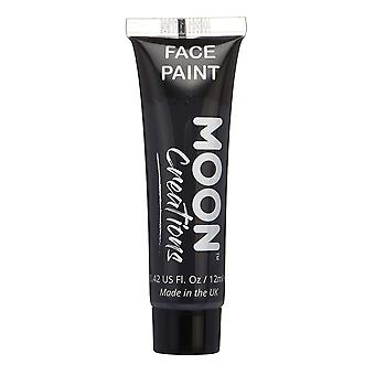 Face & body paint by moon creations - 12ml - black