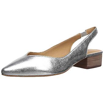 Lucky Brand Women's Shoes Lk-caedmam Leather Pointed Toe Casual Slingback San...