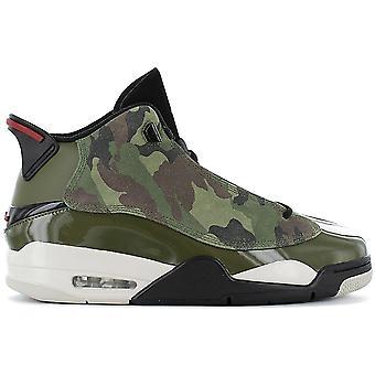 AIR JORDAN Dub Zero - Men's Basketball Shoes Camouflage Green 311046-200 Sneakers Sports Shoes