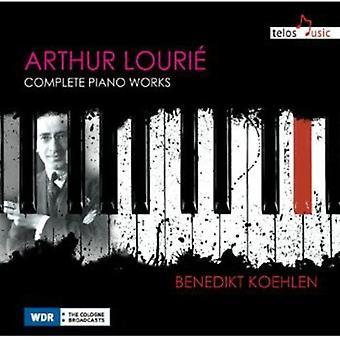 Arthur Lourie - Arthur Louri : Piano Pieces [CD] USA import