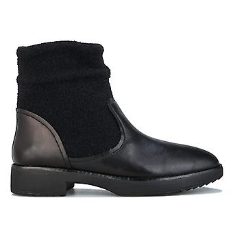 Women's Fit Flop Nisse Mixte Ankle Boots in Black