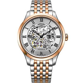 Mens Watch Rotary GB02944/06, Automaat, 42mm, 5ATM