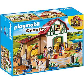 Playmobil Country Pony Farm com 2 Pony Stalls