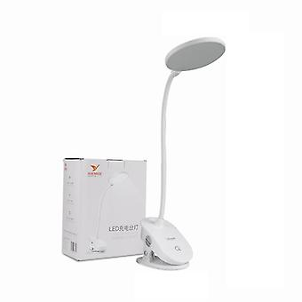 Clip Wireless Table Lamp Study 3 Modes Touch 1200mah Rechargeable Led Reading