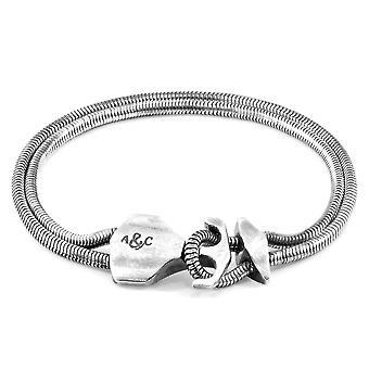 ANCHOR & CREW Delta Anchor Silver Chain Bracelet