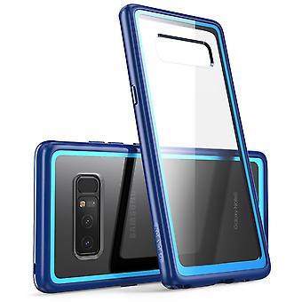 I-Blason Clear Halo Series Samsung Galaxy Note 8 Hybrid Bumper Case-Navy