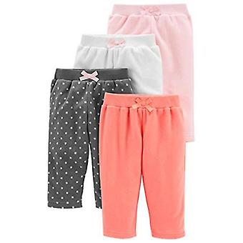 Bucurii simple de Carterăs Baby Girlsă pantaloni fleece 4-Pack