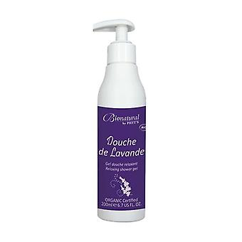 Bionatural Relaxing Lavender Shower 200 ml of gel