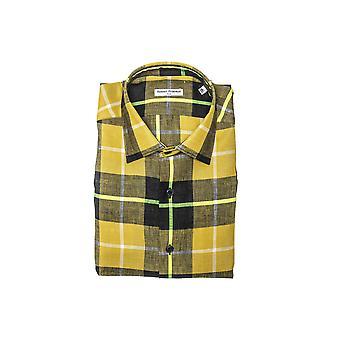 Robert Friedman Men's Yellow Shirt