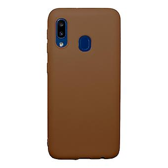 Ultra-Slim Case compatible with Samsung Galaxy A10e | In Brown