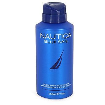 Nautica Blue Sail Déodorant Spray Par Nautica 5 oz Spray déodorant