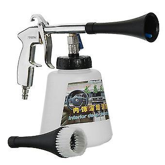 Multifunctional haute pression air opearted voiture laveuse eqiupment tornade intérieur pistolet de nettoyage en profondeur